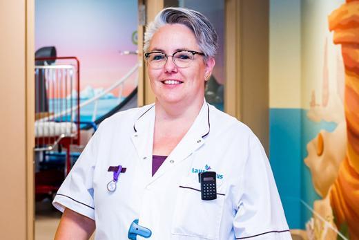 <p>Lucienne, kinderverpleegkundige, aan het woord</p>