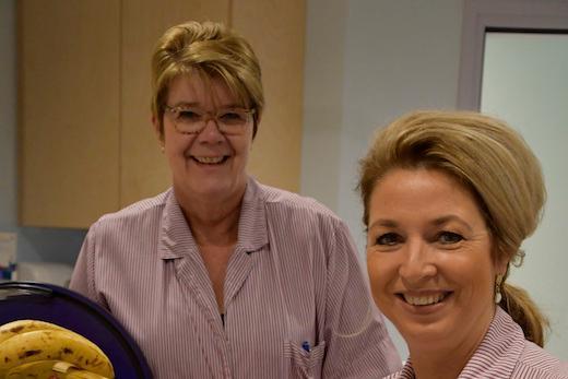 <p>Karin en Lilian, gastvrijheidsmedewerkers,<br />aan het woord</p>